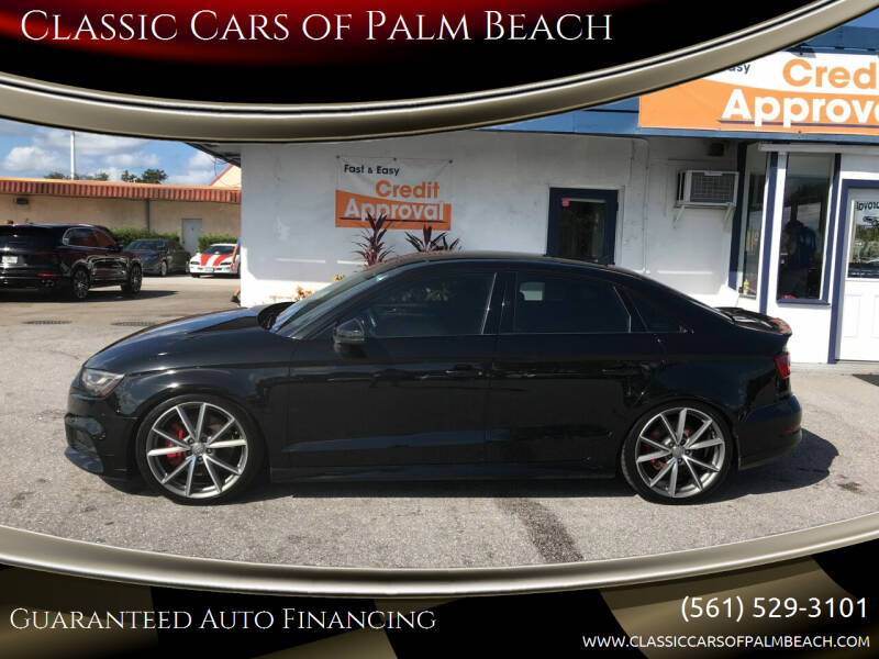 2017 Audi S3 for sale at Classic Cars of Palm Beach in Jupiter FL