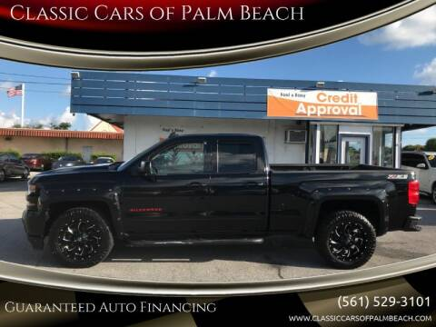 2017 Chevrolet Silverado 1500 for sale at Classic Cars of Palm Beach in Jupiter FL