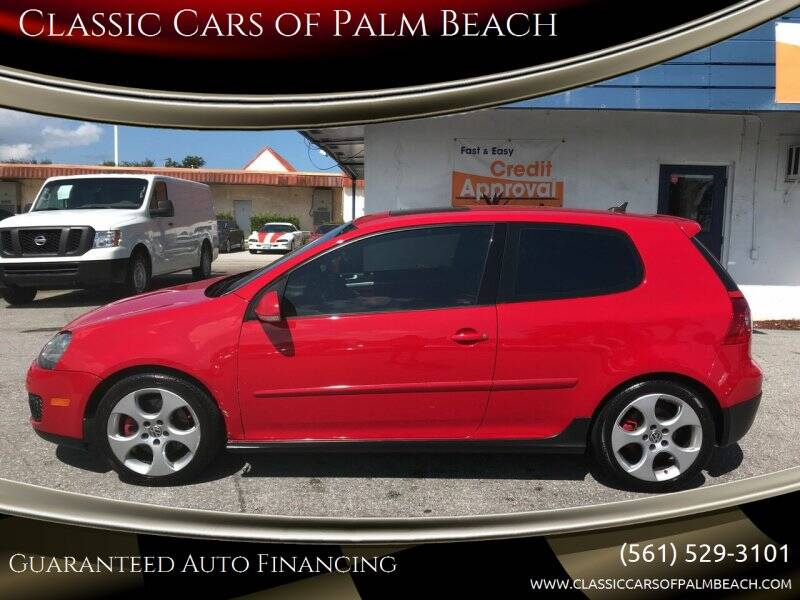 2008 Volkswagen GTI for sale at Classic Cars of Palm Beach in Jupiter FL