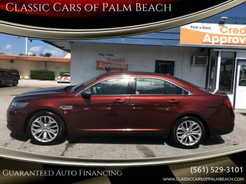 2015 Ford Taurus for sale at Classic Cars of Palm Beach in Jupiter FL