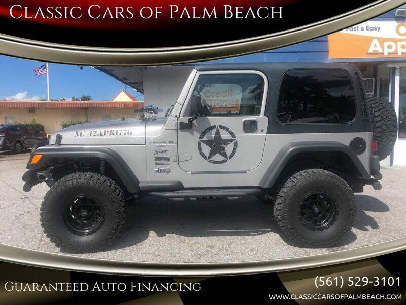 2000 Jeep Wrangler for sale at Classic Cars of Palm Beach in Jupiter FL