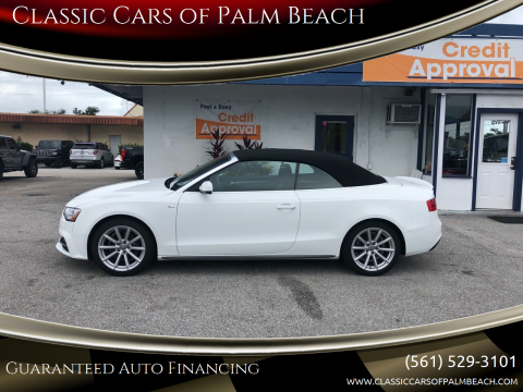 2017 Audi A5 for sale at Classic Cars of Palm Beach in Jupiter FL
