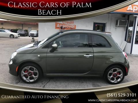 2016 FIAT 500 for sale at Classic Cars of Palm Beach in Jupiter FL