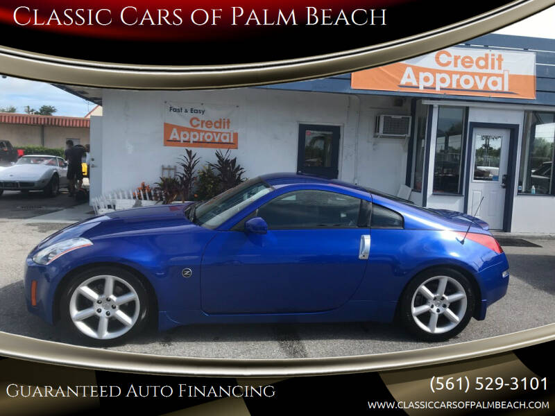 2003 Nissan 350Z for sale at Classic Cars of Palm Beach in Jupiter FL