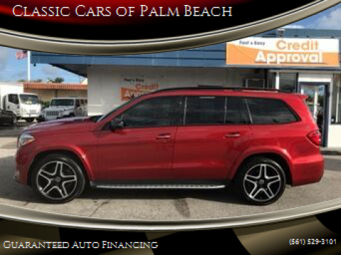2018 Mercedes-Benz GLS for sale at Classic Cars of Palm Beach in Jupiter FL