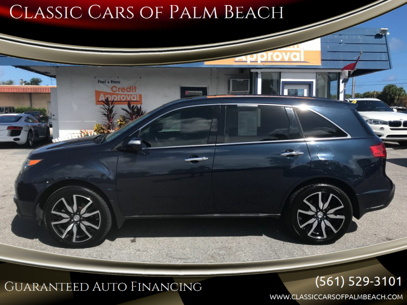 2011 Acura MDX for sale at Classic Cars of Palm Beach in Jupiter FL