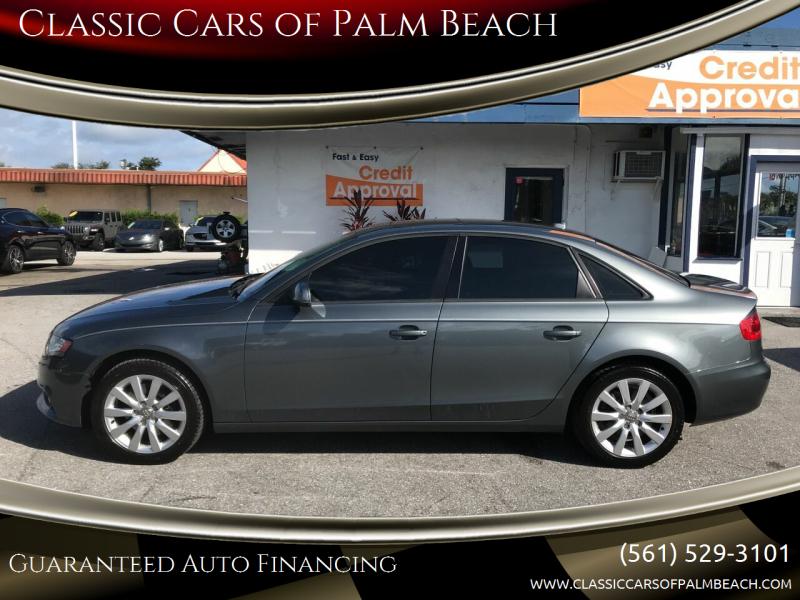 2012 Audi A4 for sale at Classic Cars of Palm Beach in Jupiter FL