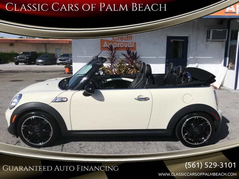 2015 MINI Convertible for sale at Classic Cars of Palm Beach in Jupiter FL