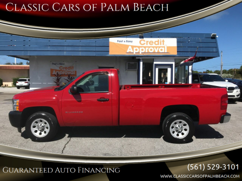 2012 Chevrolet Silverado 1500 for sale at Classic Cars of Palm Beach in Jupiter FL