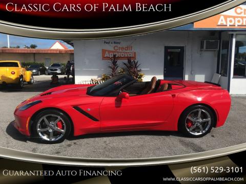 2014 Chevrolet Corvette for sale at Classic Cars of Palm Beach in Jupiter FL