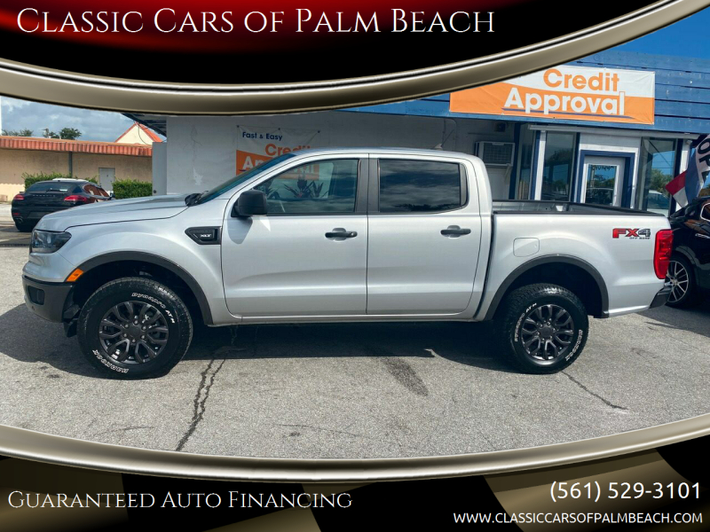 2019 Ford Ranger for sale at Classic Cars of Palm Beach in Jupiter FL