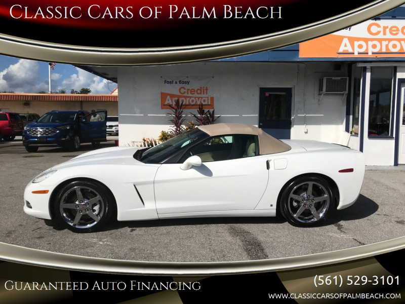 2006 Chevrolet Corvette for sale at Classic Cars of Palm Beach in Jupiter FL