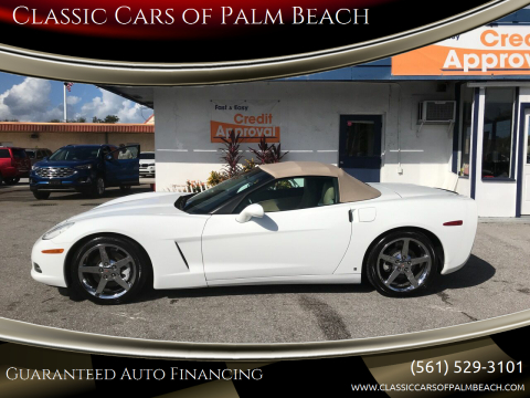 2006 Chevrolet Corvette for sale at Classic Cars of Palm Beach in Jupiter FL