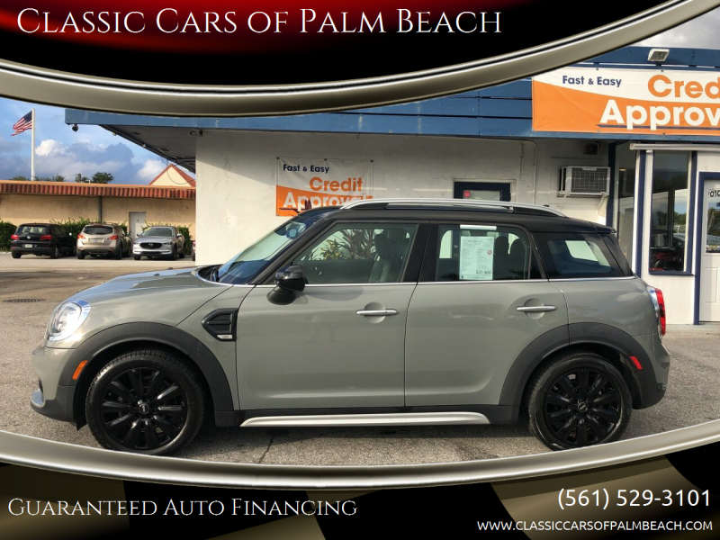 2017 MINI Countryman for sale at Classic Cars of Palm Beach in Jupiter FL