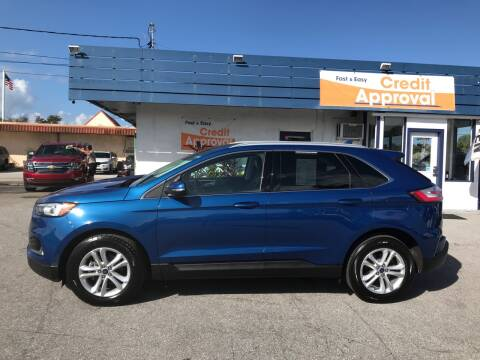 2020 Ford Edge for sale at Classic Cars of Palm Beach in Jupiter FL