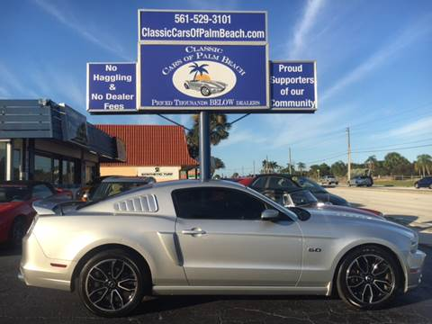 2013 Ford Mustang for sale in Jupiter, FL