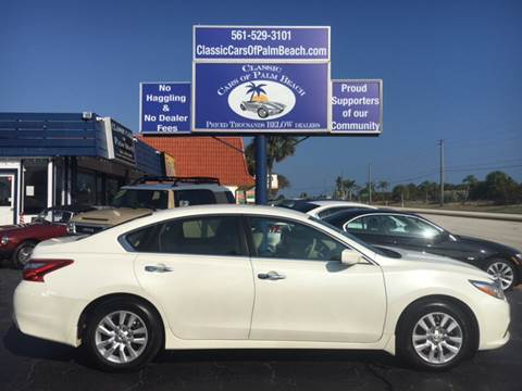 2016 Nissan Altima for sale in Jupiter, FL