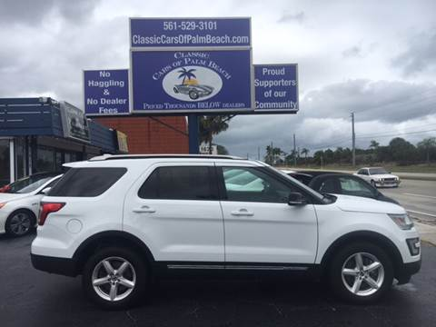 2016 Ford Explorer for sale in Jupiter, FL