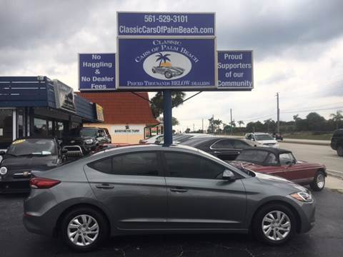2017 Hyundai Elantra for sale in Jupiter, FL