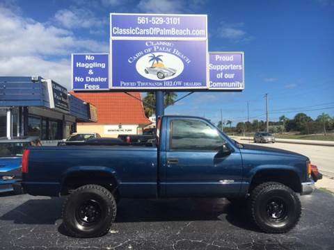 1998 Chevrolet C/K 1500 Series for sale in Jupiter, FL