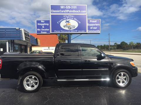2006 Toyota Tundra for sale in Jupiter, FL