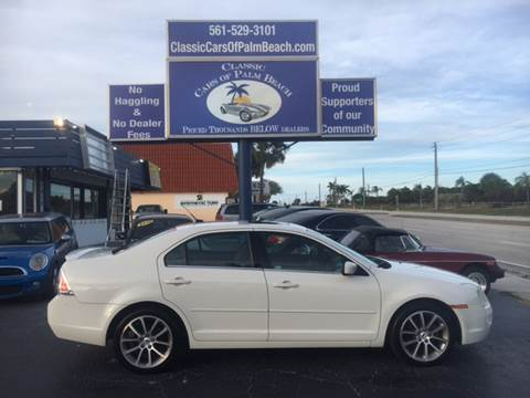 2009 Ford Fusion for sale in Jupiter, FL
