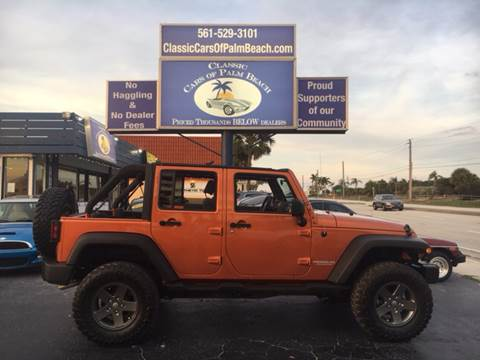 2010 Jeep Wrangler Unlimited for sale in Jupiter, FL