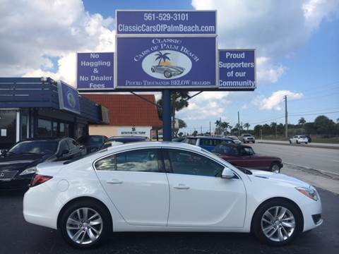 2016 Buick Regal for sale in Jupiter, FL