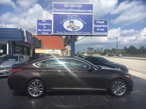 2016 Hyundai Genesis for sale in Jupiter, FL