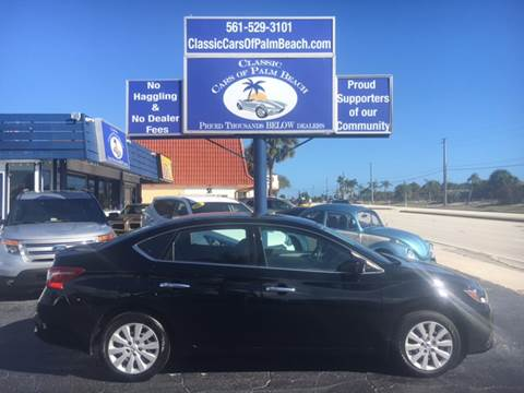 2016 Nissan Sentra for sale in Jupiter, FL