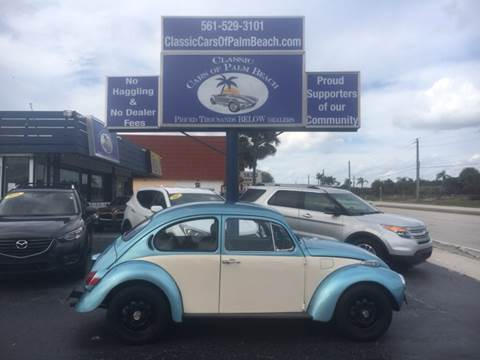 1971 Volkswagen Super Beetle for sale in Jupiter, FL