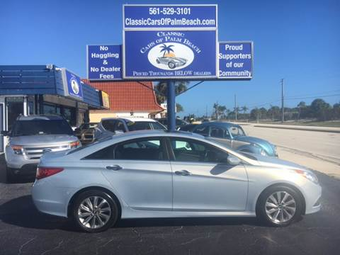 2014 Hyundai Sonata for sale in Jupiter, FL