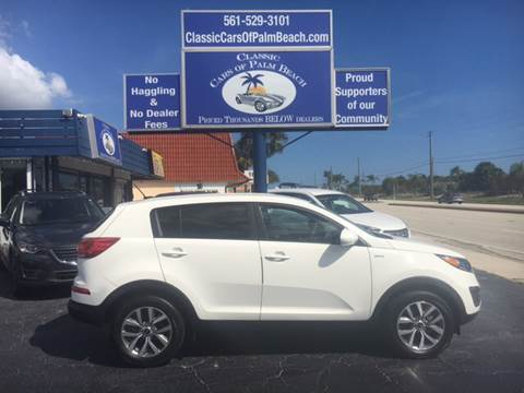2016 Kia Sportage for sale in Jupiter, FL