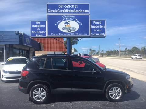 2016 Volkswagen Tiguan for sale in Jupiter, FL