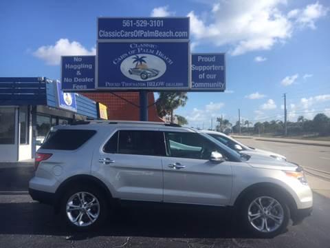 2015 Ford Explorer for sale in Jupiter, FL