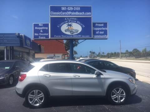 2016 Mercedes-Benz GLA for sale in Jupiter, FL