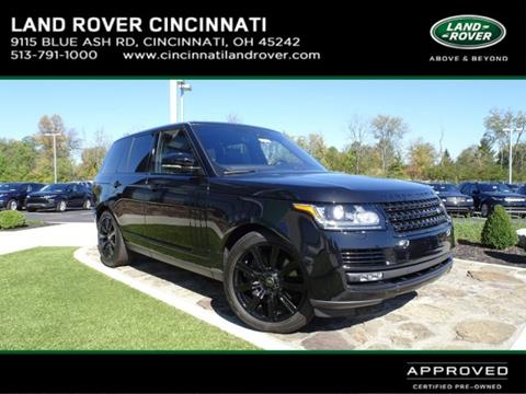 2017 Land Rover Range Rover for sale in Cincinnati, OH