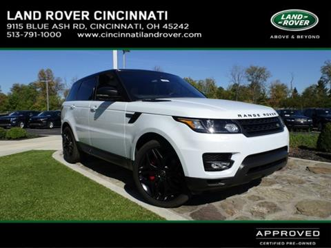 2016 Land Rover Range Rover Sport for sale in Cincinnati, OH