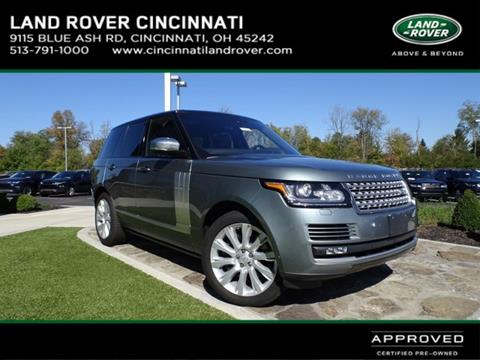 2016 Land Rover Range Rover for sale in Cincinnati, OH