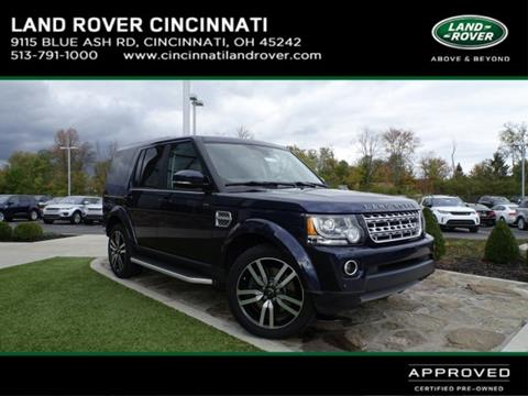 2016 Land Rover LR4 for sale in Cincinnati, OH
