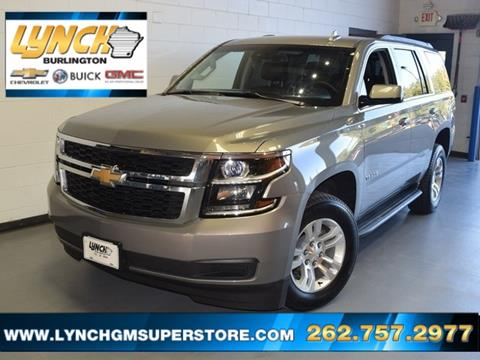 2017 Chevrolet Tahoe for sale in Burlington, WI
