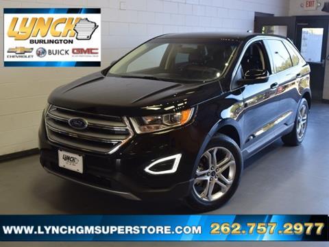 2017 Ford Edge for sale in Burlington, WI