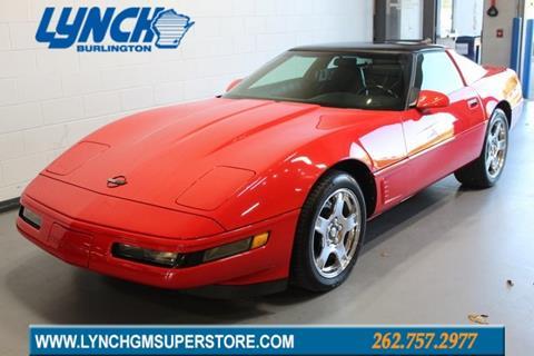 1995 Corvette For Sale >> 1995 Chevrolet Corvette For Sale In Burlington Wi