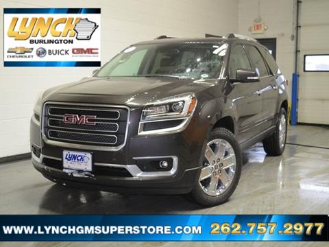 2017 GMC Acadia Limited for sale in Burlington, WI