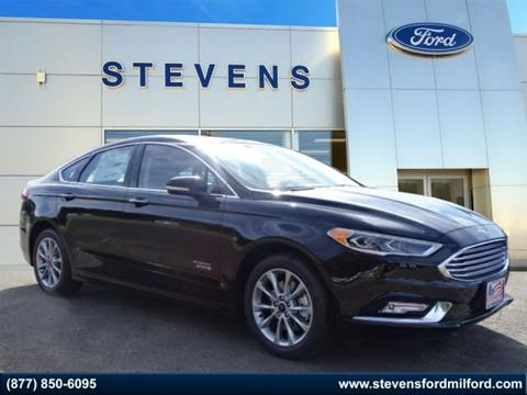 2017 Ford Fusion Energi for sale in Milford, CT