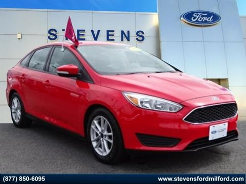2016 Ford Focus for sale in Milford, CT