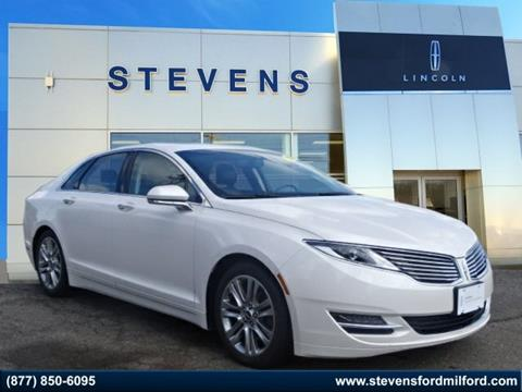 2015 Lincoln MKZ for sale in Milford, CT