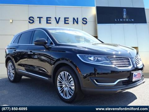 2017 Lincoln MKX for sale in Milford, CT