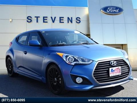 2016 Hyundai Veloster Turbo for sale in Milford, CT