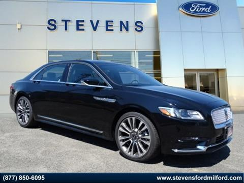 2017 Lincoln Continental for sale in Milford, CT